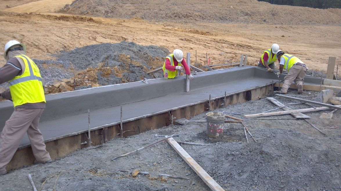Louis Smith Construction Company Curb And Gutter Louis